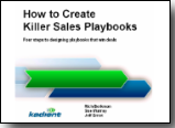 by Jeff Ernst and others: How to Create Killer Sales Playbooks: Sales Enablement